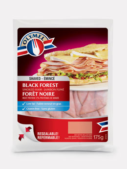 Black forest smoked ham