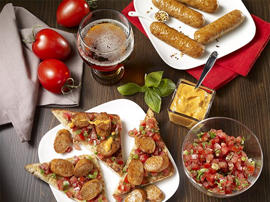 Olymel amor� spicy italiana sausages